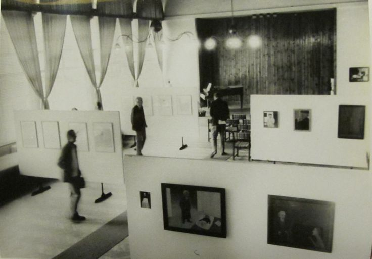 Vlasta Vostřebalová Fischerová - Výstava autorky v Galerii Sdruženého klubu pracujících v Boskovicích (1988)