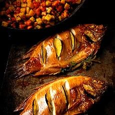 Oven-Roasted Tilapia with Mango and Paw Paw Salsa. find info on paw ...