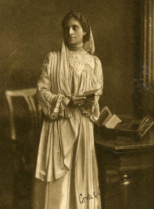 """Cornelia Sorabji (15 November 1866 - 6 July 1954) """"Though Indian (Parsi) and a woman, Cornelia Sorabji accomplished the unimaginable in becoming the first woman to practice law in India and Britain."""" She graduated law school and passed the exams, but legally she could only give advice & enter pleas. """"In the 1920s, she was legally able to practice law and opened a firm in Calcutta; however, male prejudice confined her to the preparation of cases, and she never set foot in a court as a…"""