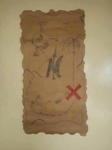 Mapa Jake el Pirata