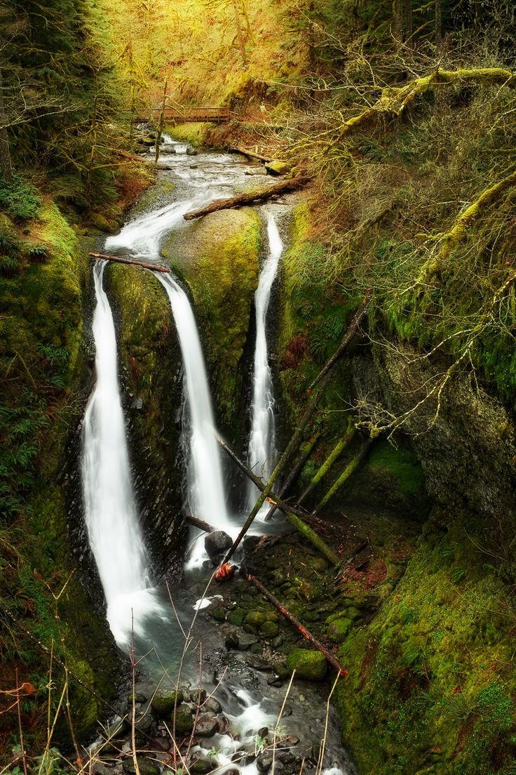 Triple Falls by Justin Walker on 500px