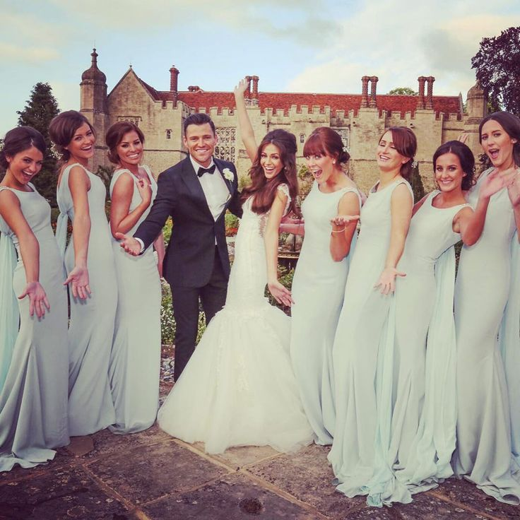 Mark Wright & family share pictures from his wedding to Michelle Keegan