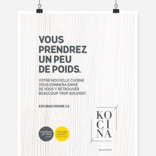 Kocïna / Affiche promotionnelle / Beez Créativité Média