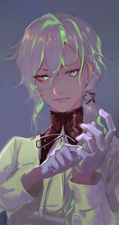 Anime Art, Silver Hair