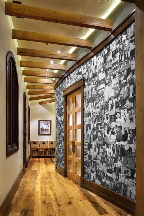 Photo wall.... Awesome idea