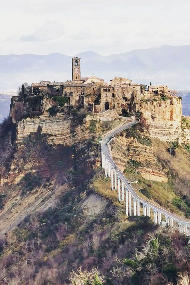 13 Beautiful Hilltop Towns In Italy Travel Italy Nature