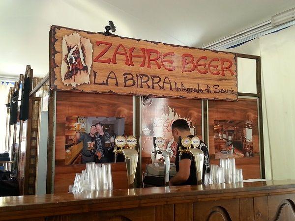 Zahre Beer la birra friulana di Sauris!
