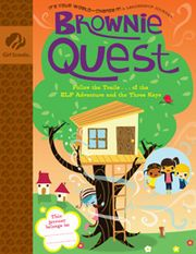 Brownie Quest journey ideas. I loved (and downloaded) the Girl Scout Law scavenger hunt doc.