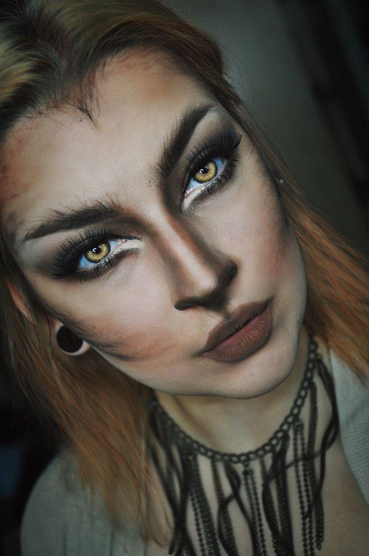 werewolf halloween makeup  https://www.facebook.com/Aggathaemakeup/  https://www.instagram.com/aggathae/