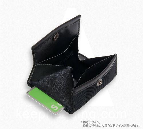 A WALLET(ウォレット) ブラック // 便利なコンパクトカードサイズ財布の画像