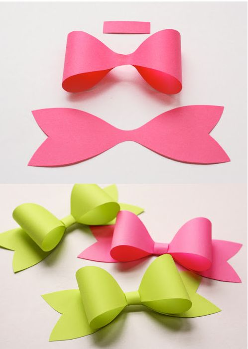 Best 25+ Paper Bows Ideas On Pinterest | Gift Bows, Origami Bow