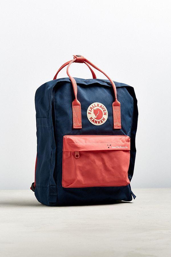 Fjallraven Save The Arctic Fox Kanken Mini Backpack | Save