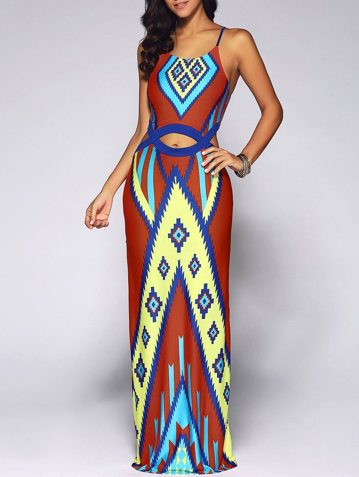 SHARE & Get it FREE | Cut Out Geometry Print Long African DressFor Fashion Lovers only:80,000+ Items • New Arrivals Daily • Affordable Casual to Chic for Every Occasion Join Sammydress: Get YOUR $50 NOW!