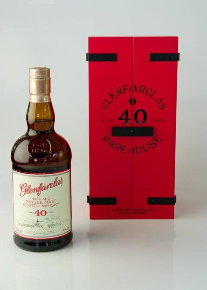 Glenfarclas 40 Years Old Limited Edition