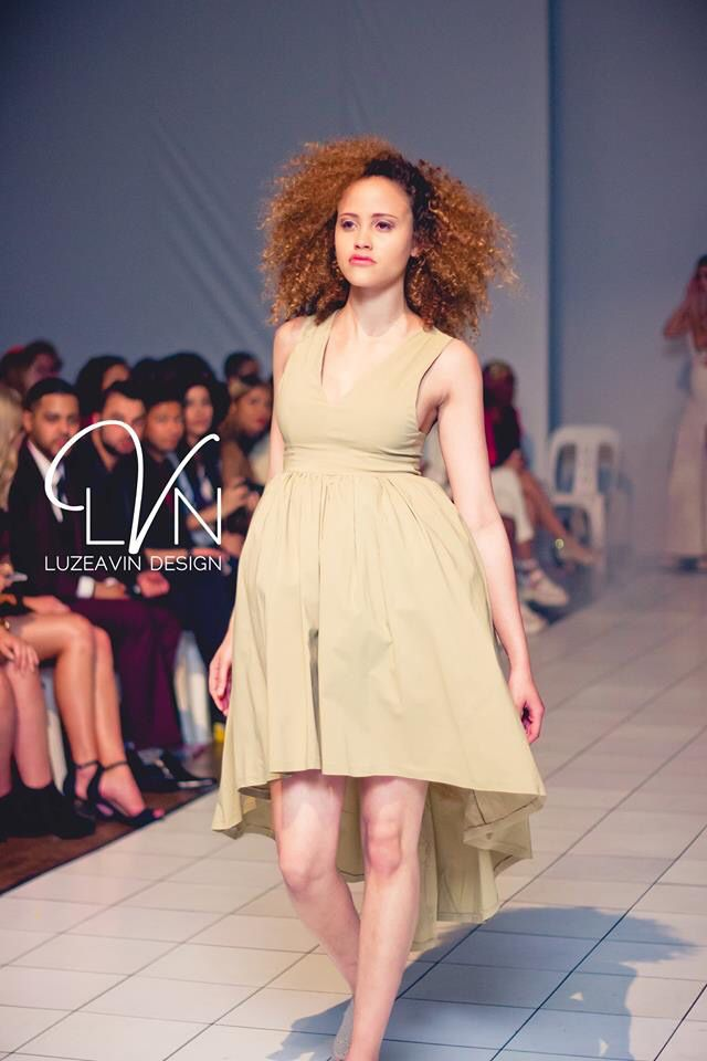 LVN design feature at Odyssey Fashion Fair Friday night #OFF2015. Inspire by neutral tones to kick off Spring-Summer