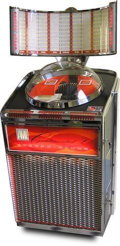 1959 AMI Continental Stereo-Round Jukebox