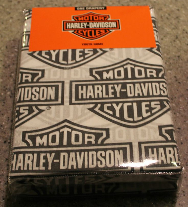 Harley Davidson Curtains   Flame Rider Fireball