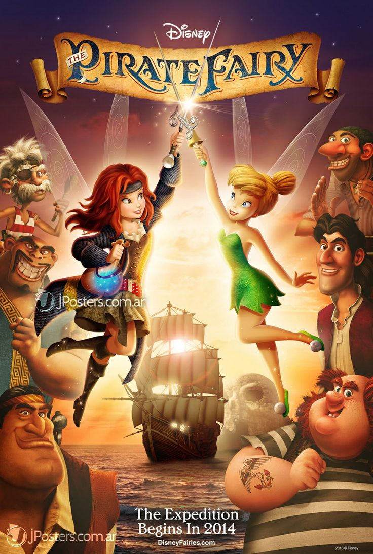 Tinker Bell and the Pirate Fairy. DVD/BluRay. Loved it!