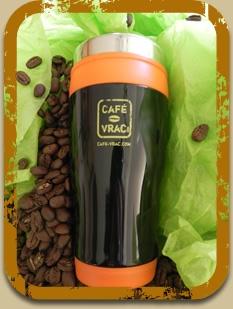 Promotion !  Tasse Thermos Gratuite avec toute commande de 6lb et plus...  Faites vite !  Quantité limitée !    Crédit: Cafe-vrac.com