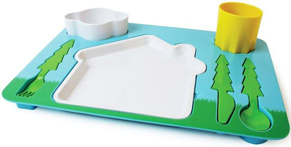 fun for kids: Dinners Sets, Trays, Idea, Kids Stuff, For Kids, Landscape Dinners, Products, Kids Dinners, Dinner Sets