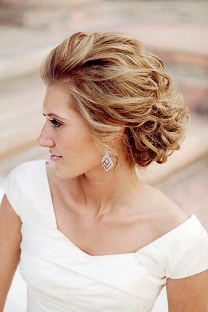 48 Trendiest Short Wedding Hairstyle Ideas Short Hair Updo Hair Styles Short Wedding Hair