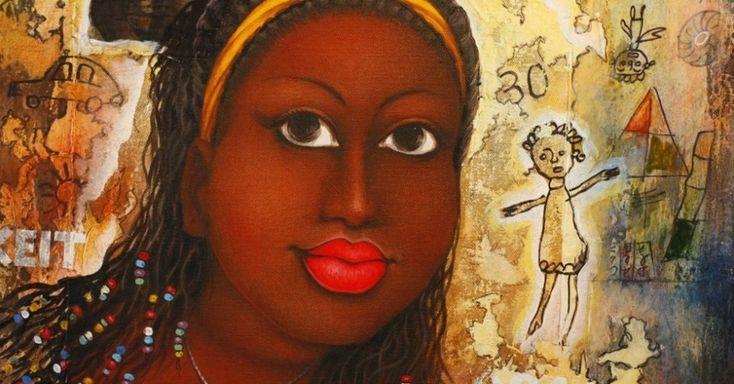 Exposição celebra a beleza de formas voluptuosas de mulheres africanas - Fotos - UOL Entretenimento