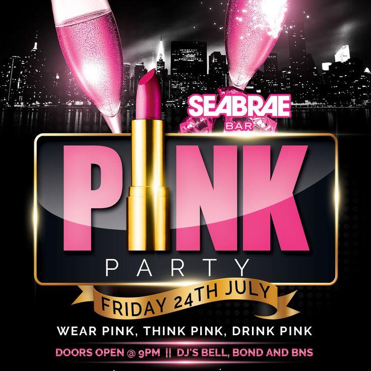 Dress pink, wear pink, think pink!