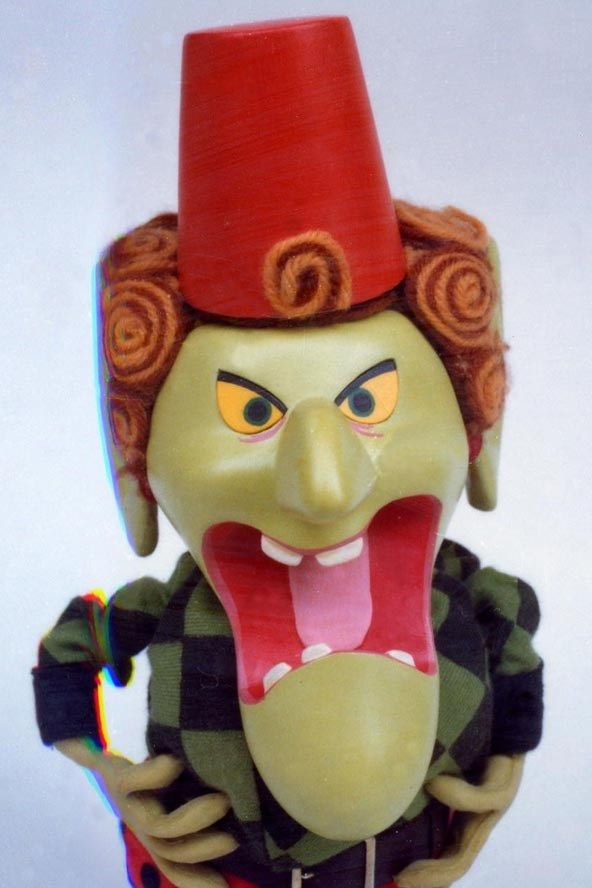 """Fenella the Kettle Witch from """"Chorlton and the Wheelies"""" (1976-79)"""