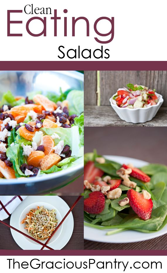The Clean Eating Salad Challenge