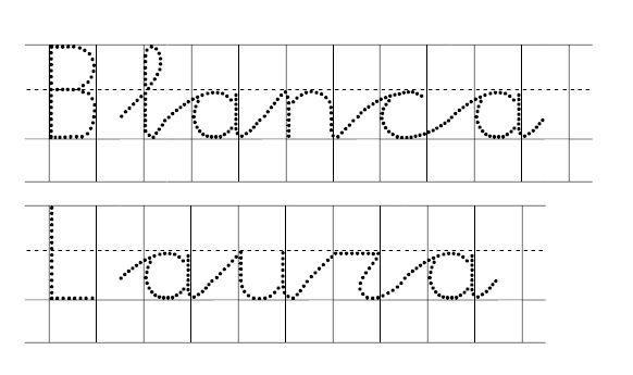 17 mejores ideas sobre fuentes cursivas en pinterest - Fuente letra infantil ...