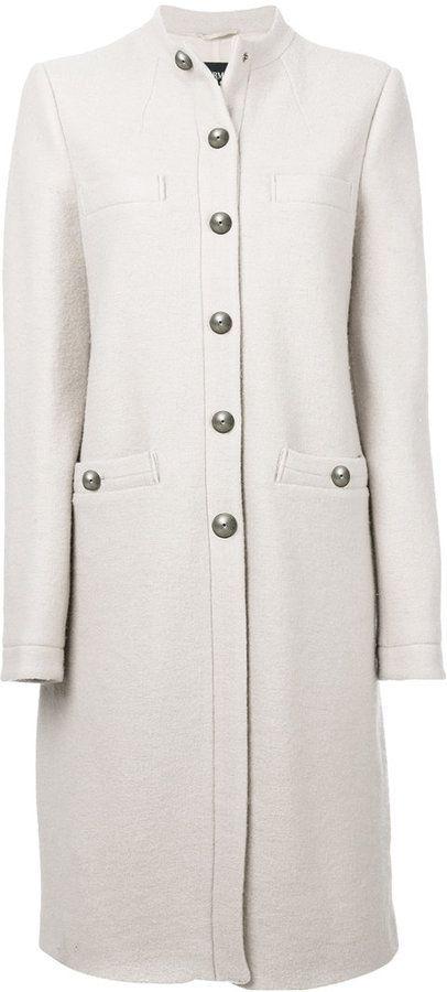 Armani Jeans single breasted coat