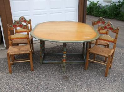 Vintage Monterey Furniture | Monterey Furniture Dining Set