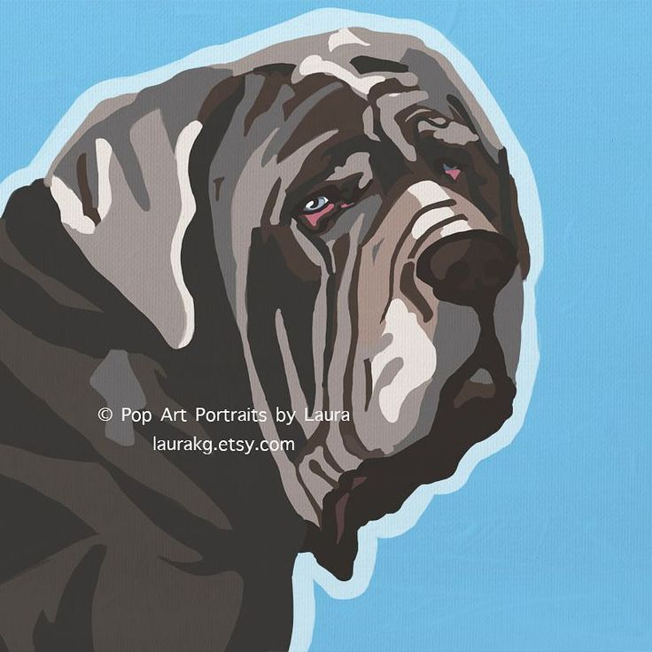 Congratulations to Martha for winning the world's ugliest dog contest! However I think you are far from ugly!  Neapolitan Mastiffs are beautiful dogs! Just like this guy named Yogi that I had the chance to paint! And the dog who played Fang Hagrid's dog in the Harry Potter movies #worldsugliestdog #beautiful dog #neapolitanmastiff #mastiff #harrypotter #dogsofinstagram #martha #dogart #dogartist #doggram #instadog http://misstagram.com/ipost/1544454460124705322/?code=BVvASYLgDIq