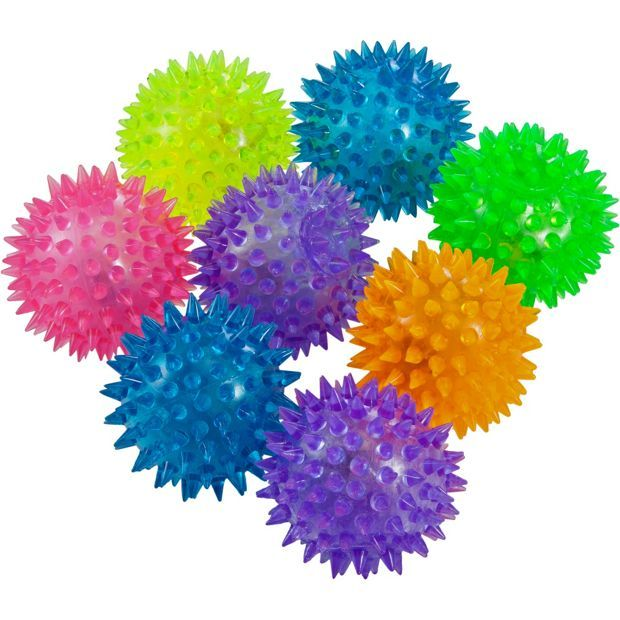 Buy Flashing Spike Balls Party Fillers - Pack of 8 at Argos.co.uk, visit Argos.co.uk to shop online for Party bags, fillers and games, Special occasions and parties, Gifts