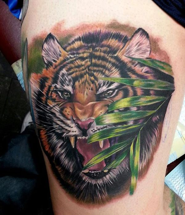 55 Awesome Tiger Tattoo Designs | Cuded