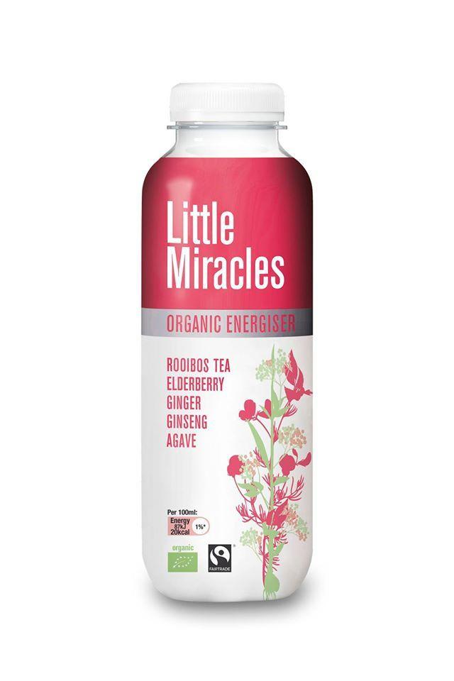Mamy świetną wiadomość dla wszystkich fanów ekologicznych napojów energetyzujących Little Miracles  W naszym sklepie pojawił się nowy smak - mieszanka herbaty rooibos, czarnego bzu, imbiru, żeńszenia i agawy. Polecamy!