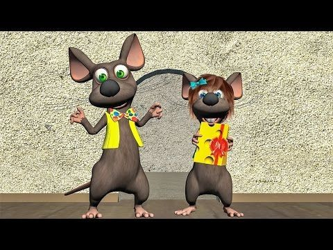 Funny Happy Birthday Song. Mouse sing Happy Birthday To You - YouTube