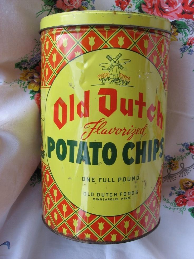 28 Best Images About Vintage Potato Chips On Pinterest