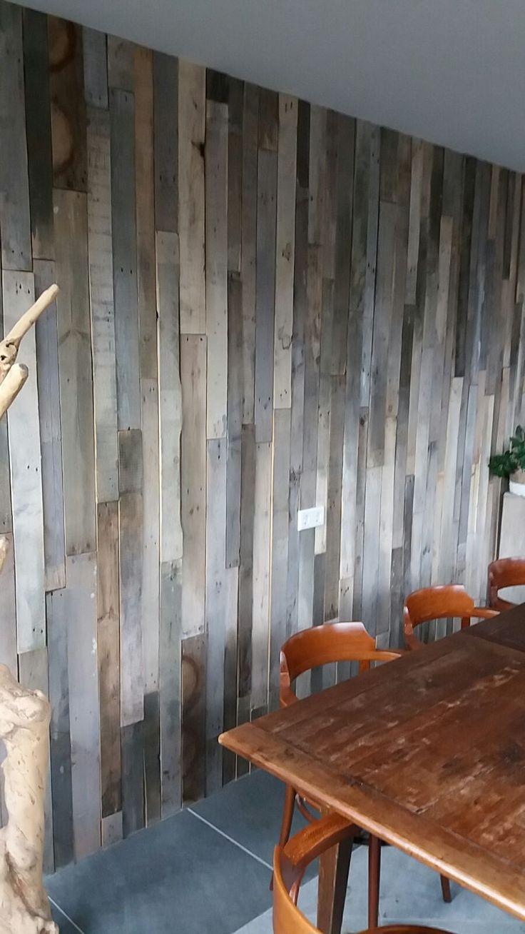 41 best 3D Wandpanelen, wallcladding, houtstrips , teakhouten ...