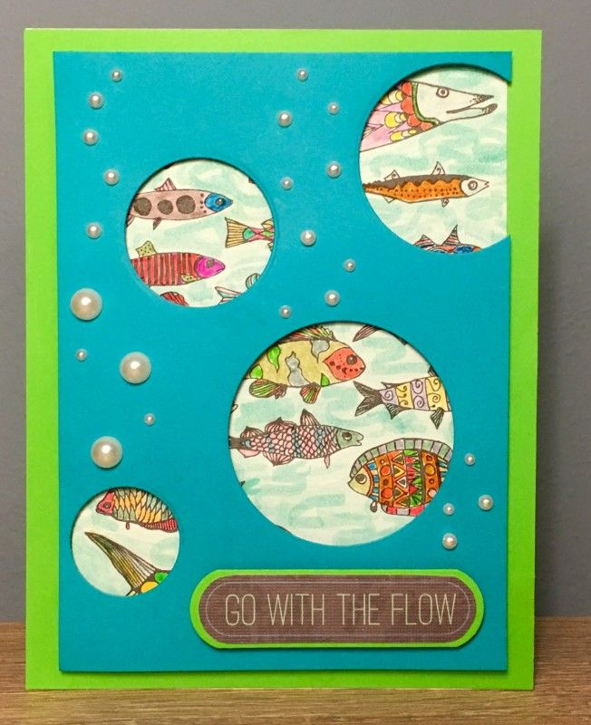 Go with the Flow by Lv2grdn -FS556 at Splitcoaststampers