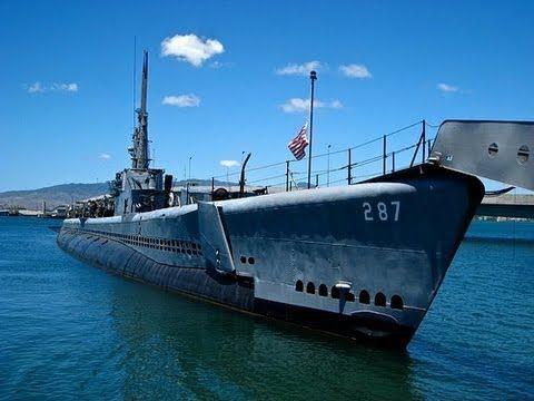 USS Bowfin WW2 Submarine, video tour, Pearl Harbor, Hawaii