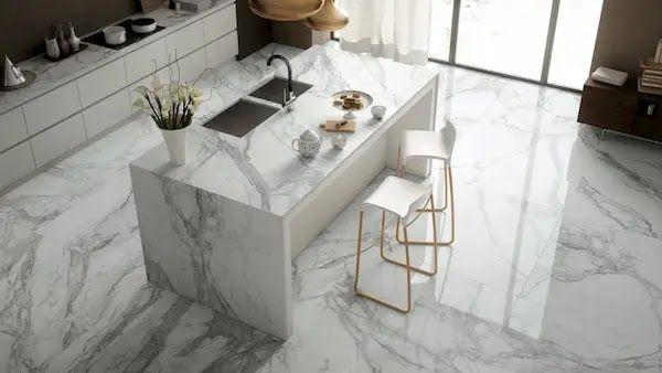 رخام مطابخ أرضيات Marble Floor Cleaning Marble Floors Flooring