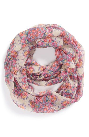 BP. 'Floral Cluster' Infinity Scarf available at #Nordstrom