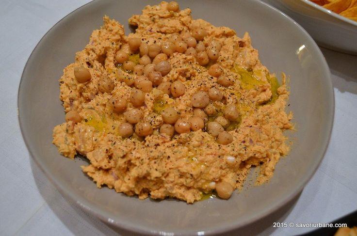 Crema de naut cu iaurt grecesc si unt de arahide Savori Urbane (4)