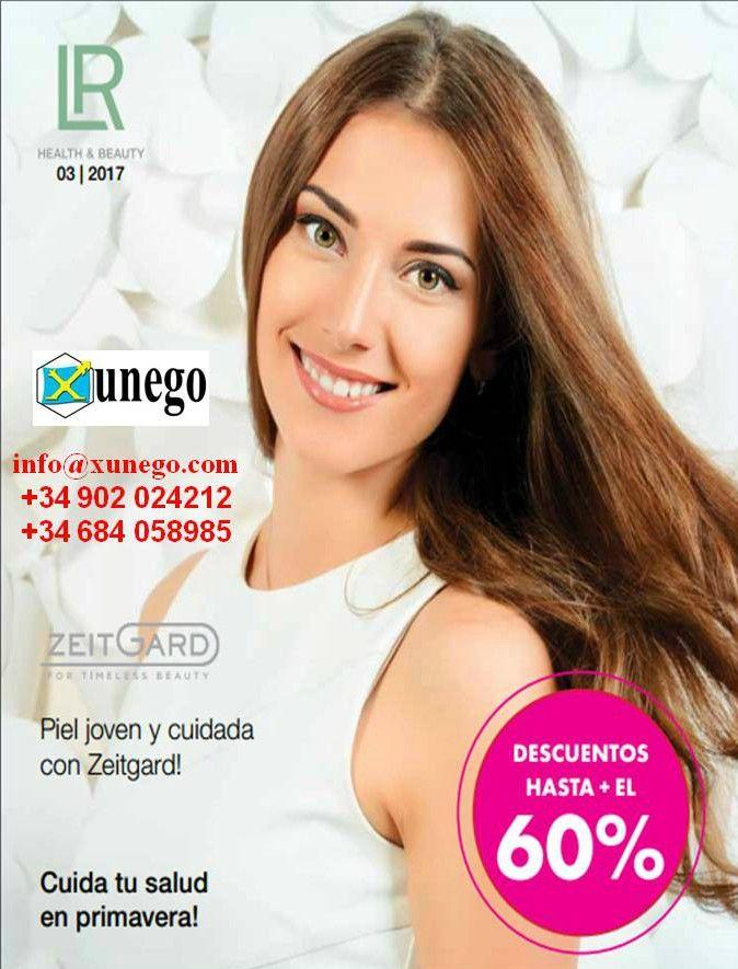 La portada del catálogo de LR Health & Beauty, correspondiente al mes de marzo de 2017.