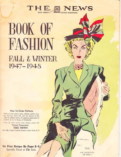 Fashion Book Cover : Cover of the book fashion fall and winter