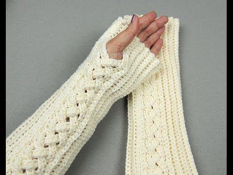 En este video aprenderemos a realizar unos nuevos guantes o mitones sin dedos, fácil y rápido de hacer. Lo podemos hacer en un solo color o combinando dos o ...