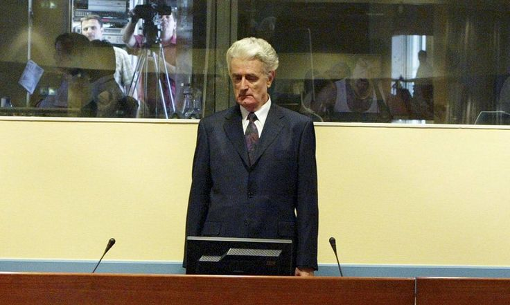Victims say 40-year sentence is too lenient while many Serbs continue to support man who oversaw 1995 massacre at Srebrenica