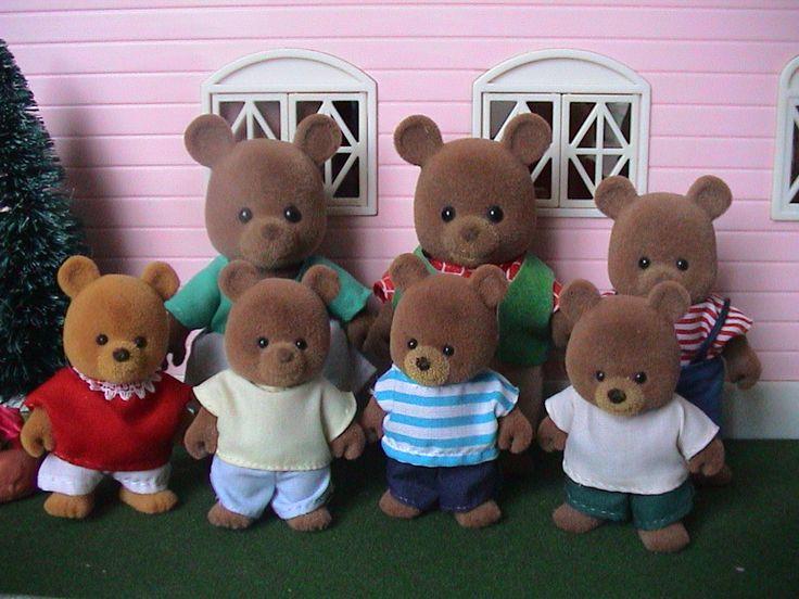 La famille ours des Petits Malins