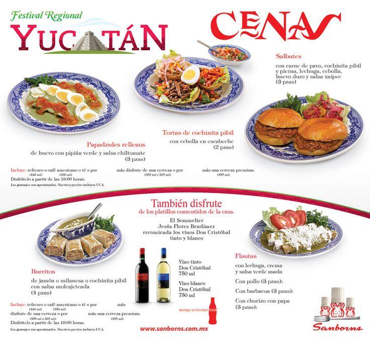 sanborns festival yucatan 15 4 platillos de cafeterias